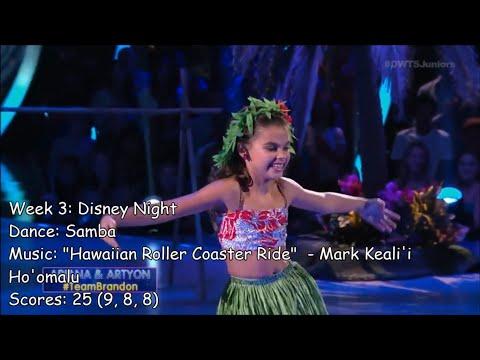 Ariana Greenblatt - All Dancing With The Stars: Juniors Performances