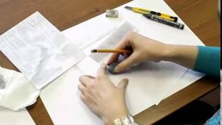 Рисуем зимний пейзаж карандашом(В преддверии Нового Года выкладываем видеоурок от школы рисования