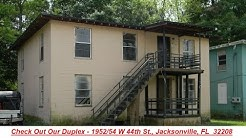 Call Us About This AWESOME Duplex For Sale In Jacksonvile, FL