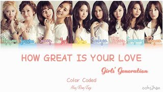 Girls' Generation - How Great Is Your Love