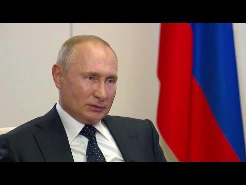 О ситуации с коронавирусом в России, а также обстановке в Белоруссии: большое интервью В.Путина.