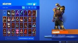 HAVE THE SKIN 'THANOS' in HIS CASIER AND PLAY WITH ON FORTNITE! SECRET SEASON 9