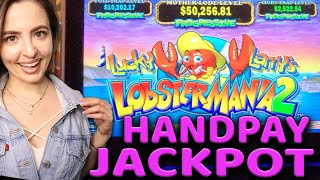 LOBSTERMANIA 2 HANDPAY JACKPOT on $60/SPIN!