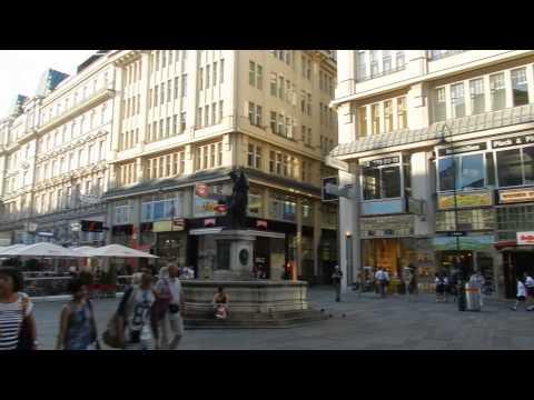 Vienna - City Centre Tour (Shopping streets and pedestrian plazas) 2015 07 20-23