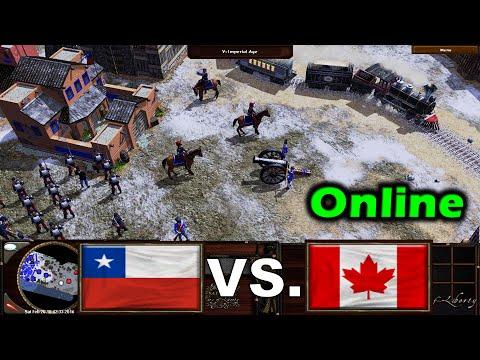 Age of Empires III: Wars of Liberty   Chile vs Canada in Atacama 🐧