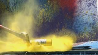 Что будет если взорвать балончик с краской?(Сегодня я покажу вам что будет если взорвать балон с краской!, 2016-07-04T14:12:08.000Z)