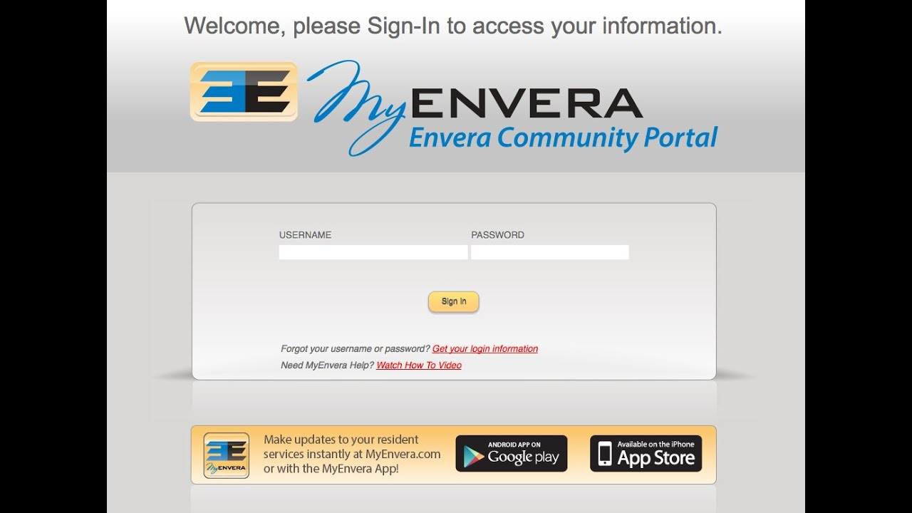 MyEnvera - Envera Systems