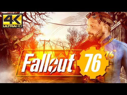 FALLOUT 76 ☢ Preview 2: Nackte Devs, Mothman & Sightseeing [4K] [XB1]