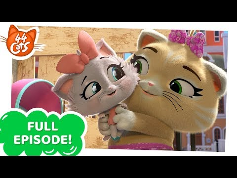 44 Cats | Pilou the kitten sitter [FULL EPISODE]