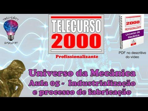 videos aulas telecurso 2000 mecanica