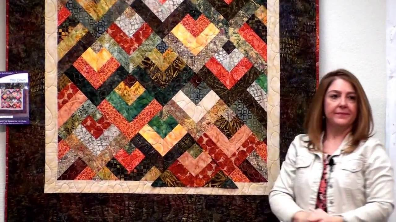 Top Down - May Strip Presentation at Cozy Creative Center - YouTube : youtube quilting video - Adamdwight.com