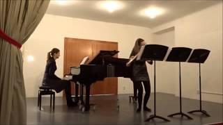 A.Khatsaturjan Flute concert Allegro con fermezza   Cintia Szilágyi Flute