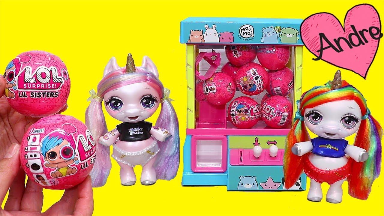 Download Bebes Unicornio abren nuevas Lil Sisters OLA 2 | Muñecas y juguetes con Andre