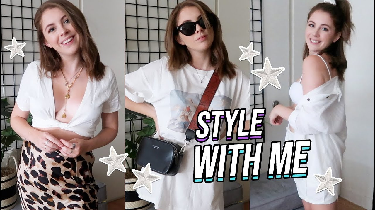 STYLE OUTFITS WITH ME | End of Summer Outfit Ideas
