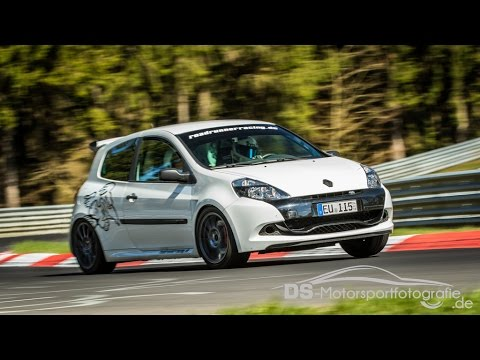 clio 3 rs cup vs porsche gt3 nordschleife youtube. Black Bedroom Furniture Sets. Home Design Ideas