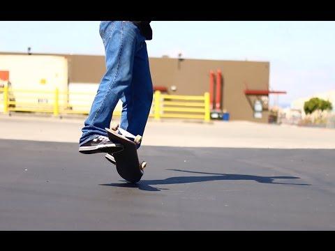 INCREDIBLE SKATEBOARD TRICKS - SHEN MENG