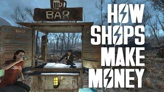 How Shops Make Money - Fallout 4 Settlements