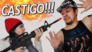 COMPETIÇÃO DE CASAL NA AIRSOFT VALENDO CASTIGO!