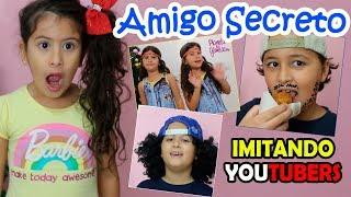 IMITANDO YOUTUBERS - Luccas Neto, Planeta das Gemeas, Juliana Baltar e outros