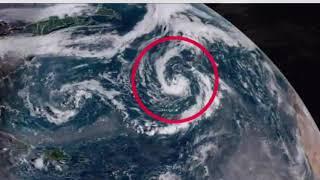 Cyclone Leslie u-turn to hit Britain