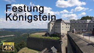 Festung Königstein - Sächsische Schweiz in 4K