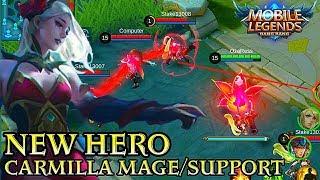New Hero Carmilla - Mobile Legends Bang Bang