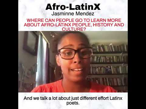 Defender Network: Jasminne Mendez on Where to Go to Learn More About Afro-Latinx History (9/21)