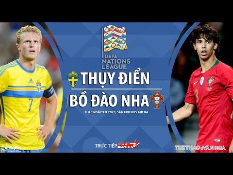 [SOI KÈO] Thụy Điển - Bồ Đào Nha(1h45 ngày 9/9). UEFA Nations League 2020/2021. Trực tiếp TTTV