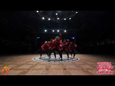 ZAVOD - ADULTS - RUSSIA HIP HOP DANCE CHAMPIONSHIP 2019