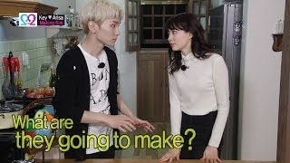 Global We Got Married S2 EP04 Making Film (SHINee Key & Arisa) 140430 (샤이니 키 & 야기 아리사)