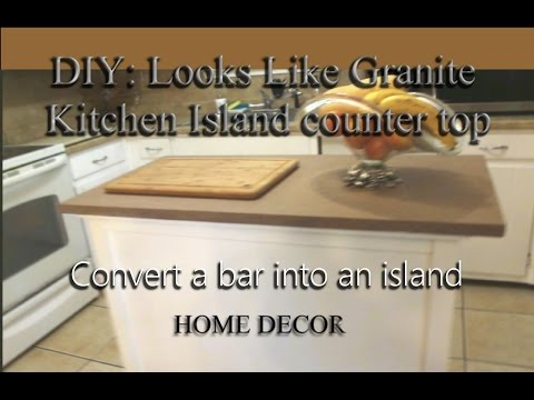 DIY   KITCHEN ISLAND FOR $25.00