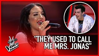 SURPRISING Joe Jonas FAN on The Voice | STORIES #24