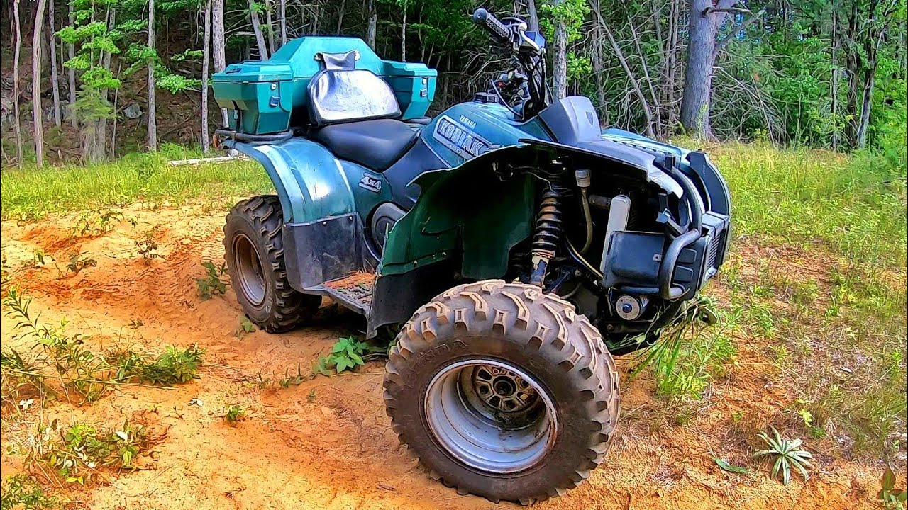 The Dirt Buggy Lives (Kodiak 450 with Fender Delete Mod)