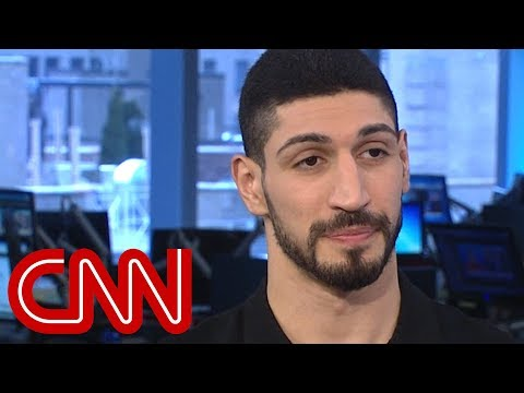 NBA's Enes Kanter: I'm scared my life would be in danger thumbnail