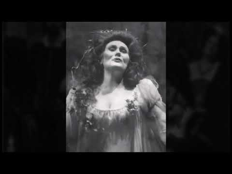 [LIVE 1985] Joan Sutherland sings Ophélie's first scene (Hamlet), still in marvelous vocal shape