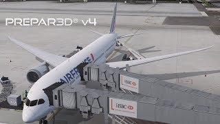 Prepar3D v4] QualityWings Boeing 787 | Full Tutorial | LEBL