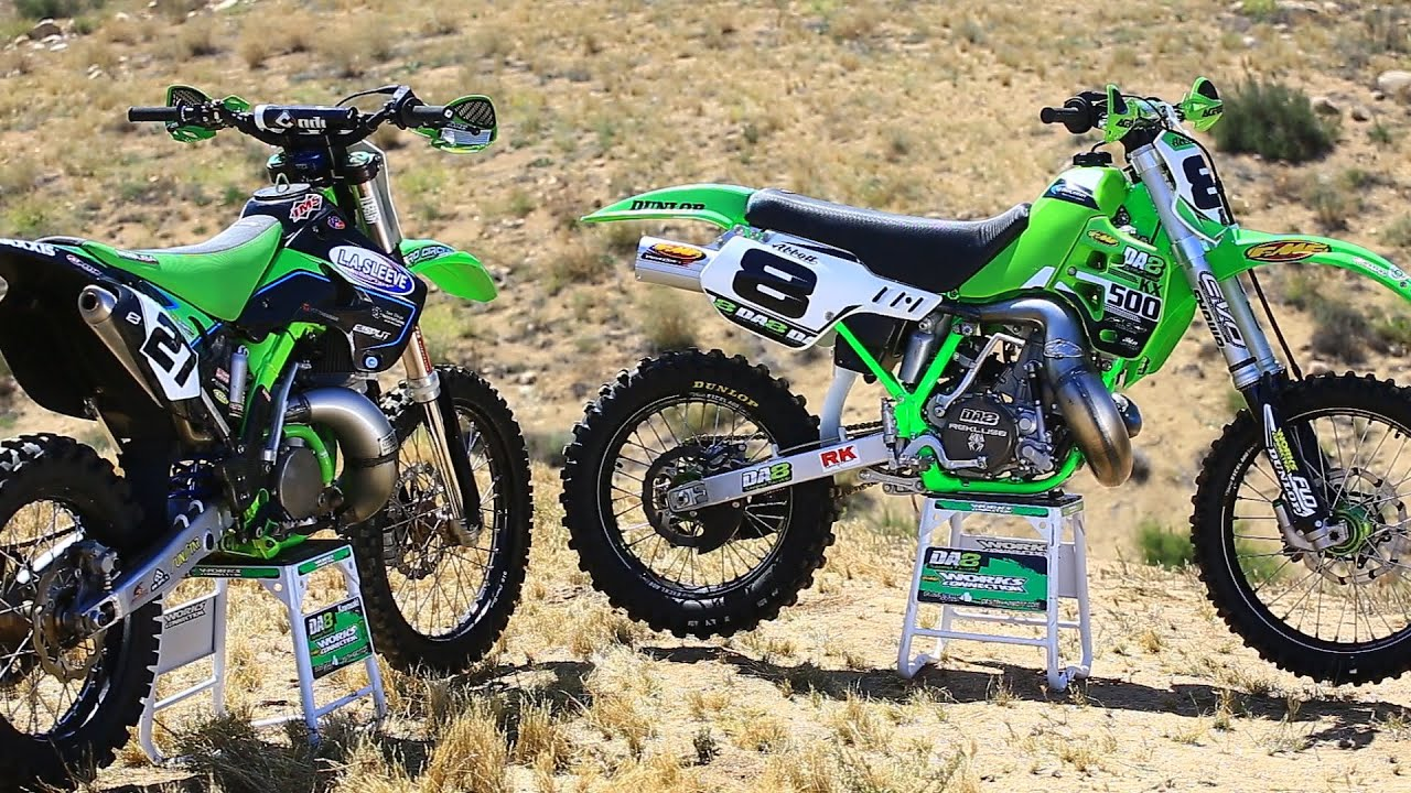 2018 honda 500 dirt bike. interesting dirt kawasaki kx 250 2 stroke vs 500  dirt bike magazine youtube for 2018 honda dirt bike