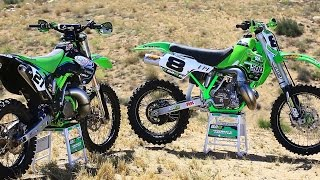 Kawasaki KX 250 2 Stroke vs KX 500 2 Stroke - Dirt Bike Magazine
