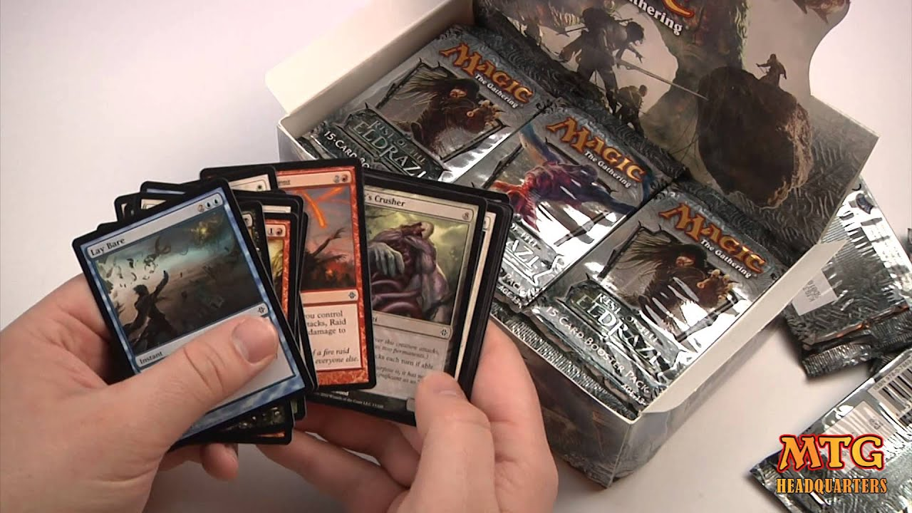 Magic The Gathering Rise of The Eldrazi Booster Pack MTG