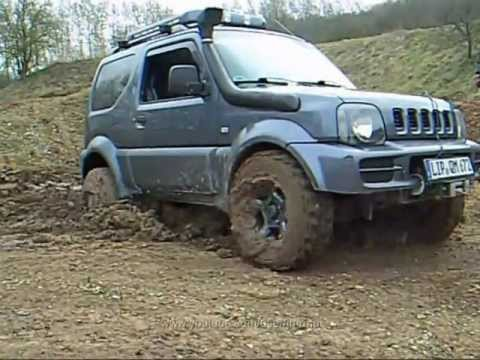 MUD - Suzuki Jimny OffRoad 2011-03 - YouTube