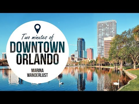Orlando Downtown Attractions | Travel Guide in 2 Minutes | Map Inside Video