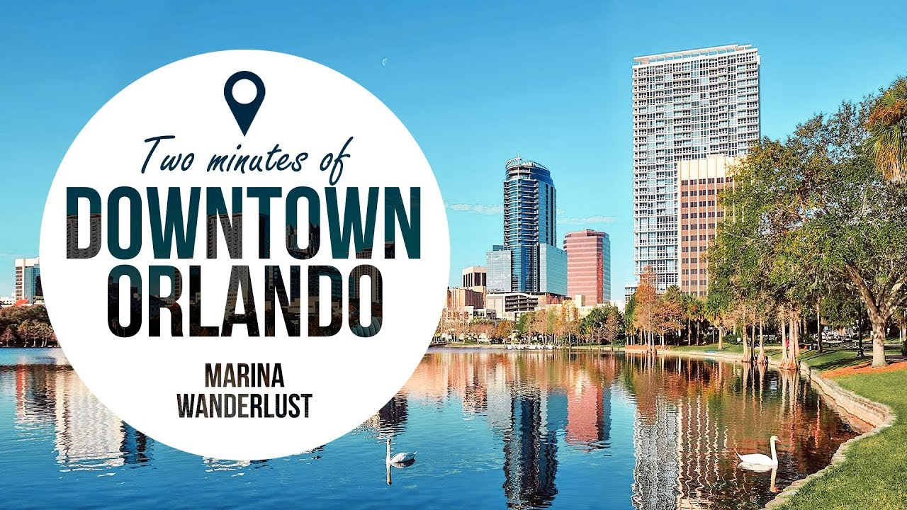 Downtown Orlando Map Downtown Orlando Travel Guide + Attractions Map   YouTube