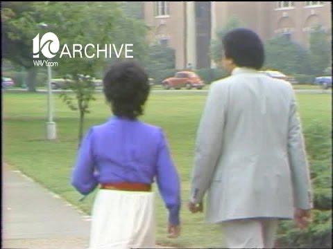 WAVY Archive: 1980 Hampton Institute  Elizabeth Taylor's Visit