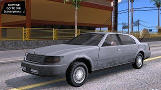 Lincoln Town Car (SA Style) V1 Test Drive GTA SA