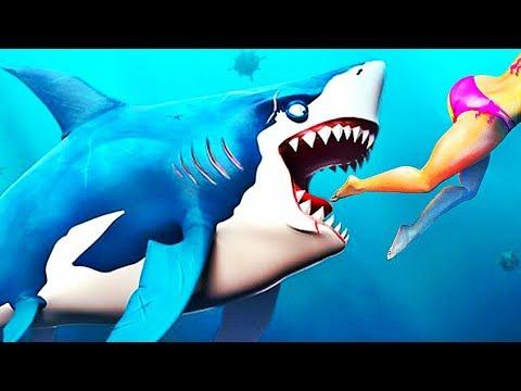IL MANGE TOUT !   Hungry Shark World #2