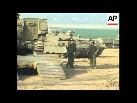 Israeli Military Buildup At Gaza Border, Security In Jerusalem
