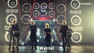 B.A.P - Warrior MV [English subs + Romanization + Hangul] HD