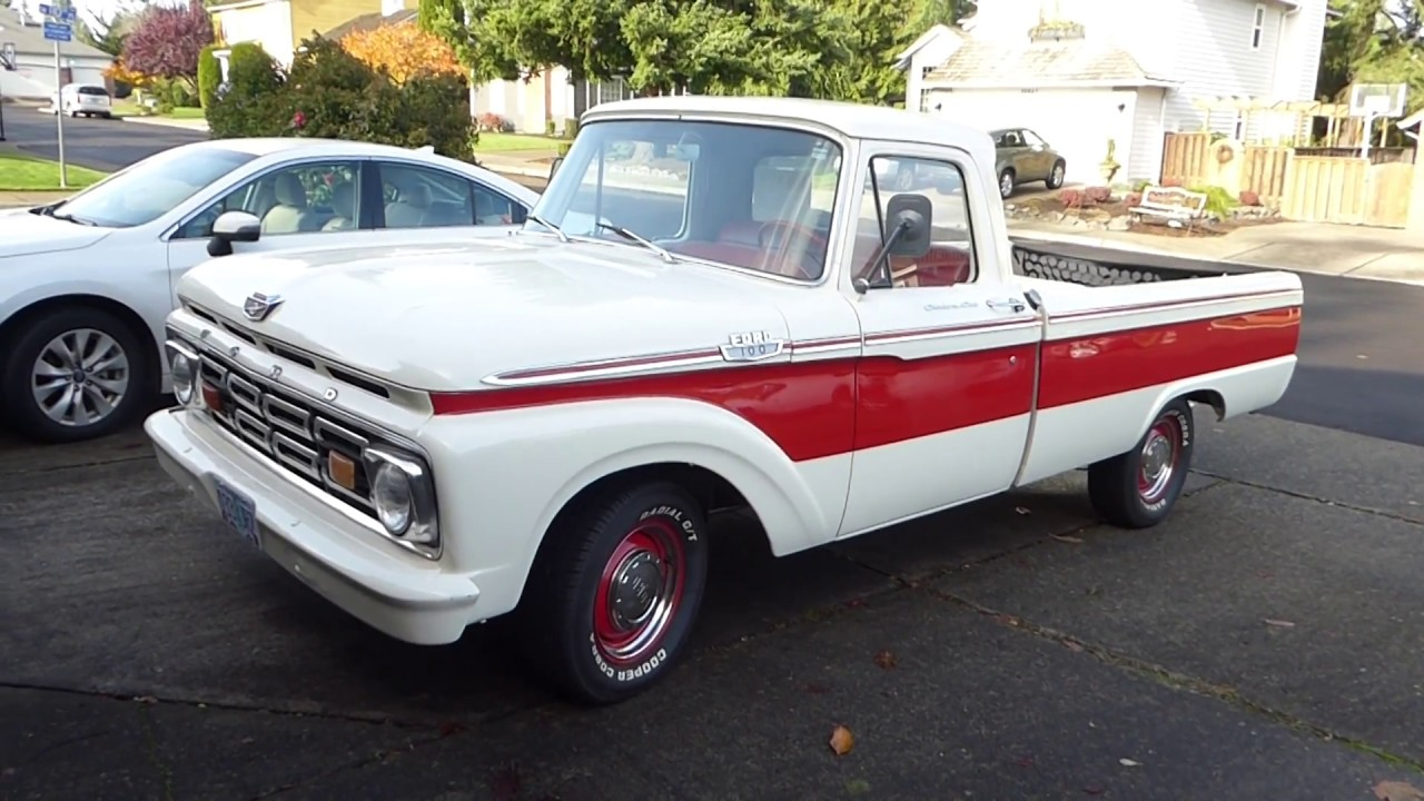 1964 Ford F100 Camper Special Youtube 1970 Ranger