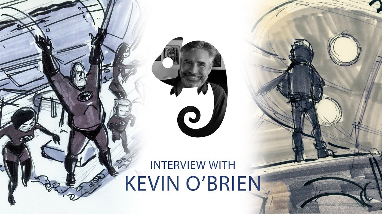 From Simpsons to WB to Pixar with story artist Kevin O'Brien