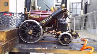 "Maintenance 5""gauge Stephenson's Rocket(OS Rocket)  ロケット号 走行後のメンテ"